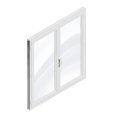 window 2 doors (pvc)