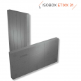 ETIXX31 Panneau d'isolation de facade en PSE gris 1200X600