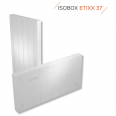 ETIXX37 Panneau d'isolation de facade en PSE blanc 1200x600