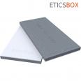 ETICSBOX Panneau d'isolation de facade en PSE bi matiere 1200x600