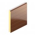 Bardage Plank PL avec isolant QuadCore