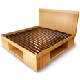 Palette Wood Bed B