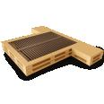 Palette Wood Bed D