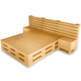 Palette Wood Bed E