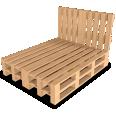 palette wood bed g