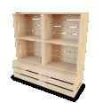 Palette Wood Wall Shelf 1