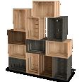 palette wood wall shelf 5