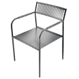 metal chair 22