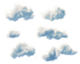 Clouds Collection Stylized