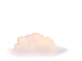 image - entourage - clouds small 1 pink stylized