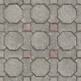 ground tiles octagonal