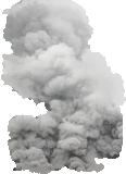 black cloud smoke