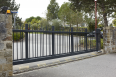 Self supporting sliding gate ALLIX