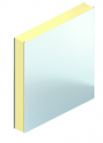 plafond lisse avec isolant pir