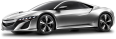 image - entourage - acura nsx gray car 1