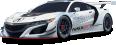 image - entourage - acura nsx gt3 racing white car 1