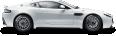Aston Martin Vantage GT4 White 10