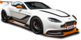 Aston Martin Vantage White Car 3