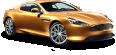 Aston Martin Virage Gold Car 2
