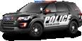 Black Ford Police Interceptor Car 6