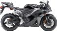 Black Honda CBR 600RR 8