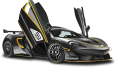 Image - Entourage - Black McLaren 570S GT4 Sports Car 10