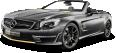 Black Mercedes AMG SL63 Car 11