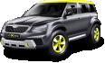 Image - Entourage - Black Skoda Yeti Xtreme Car 7
