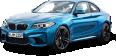 Blue BMW M2 Coupe Car 15