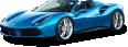 image - entourage - blue ferrari 488 spider car 17
