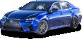 Blue Lexus GS F Car 16