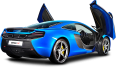 Image - Entourage - Blue Mclaren 650s Car Back 20