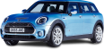 Blue Mini Clubman All4 AWD Car 24