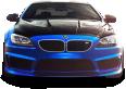 BMW M6 Blue Car 19