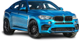 image - entourage - bmw x6 blue car 26