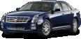 Cadillac STS Blue Car 25