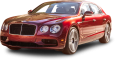 Cherry Red Bentley Flying Spur V8 S Car 30