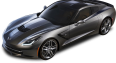 Chevrolet Corvette C7 Stingray Top View Car 19