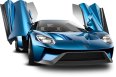 image - entourage - ford gt blue car 40