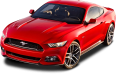 Ford Mustang Red Car 24
