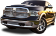 Front View of Dodge Ram 1500 Car 24