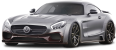 Gray Mercedes AMG GT S Car 44