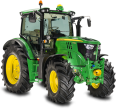 green tractor 669