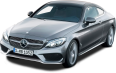 Grey Mercedes Benz C Class Coupe Car 51