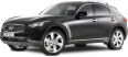 Image - Entourage - Infiniti FX30d S Black Car 40
