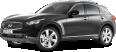 Infiniti FX30d S Black Car 48