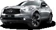 Infiniti QX70S Silver Car 51