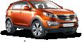 Kia Sportage 3 Orange Car 59