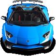 Image - Entourage - Lamborghini Aventador SV Roadster Blue Car 57