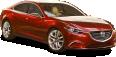 Mazda Takeri Red Car 22